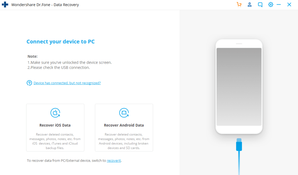 data recovery iphone android